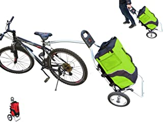 Carro Polironeshop Geko para bicicleta, ideal pra llevar la compra y como portabultos para cicloturismos
