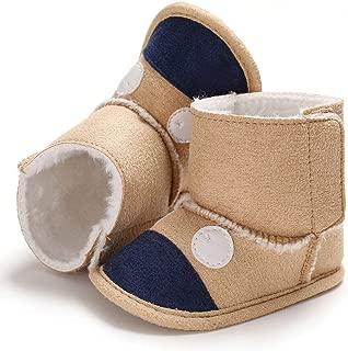 Winter Baby Cute Boots Soft Plush Booties Infant Girls Boys Anti Slip Snow Boot Keep Warm Cute Crib Shoes