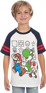 Nintendo Boys' Super Mario Characters T-Shirt for Kids Little Boys and Big Boys Tees