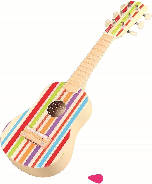 Lelin Wooden Stripe Striped Decor trend rank Guitar Ranking TOP17 Childrens Musical Instr
