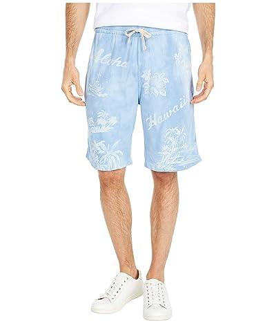 Polo Ralph Lauren Spa Terry Shorts (French Blue Print) Men