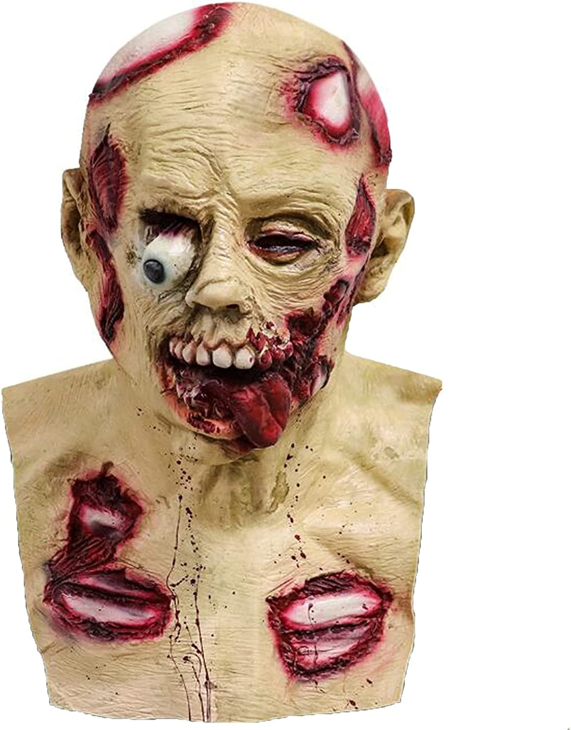Halloween Great interest Adult Comfortable Creepy Headgear Realistic Skul Scary New Shipping Free Shipping