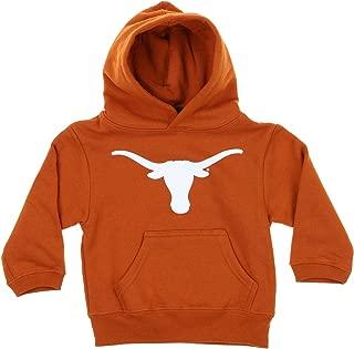 Outerstuff NCAA Toddler's (2T-4T) and Kids (4-7) Texas Longhorns Fleece Team Hoodie, Orange