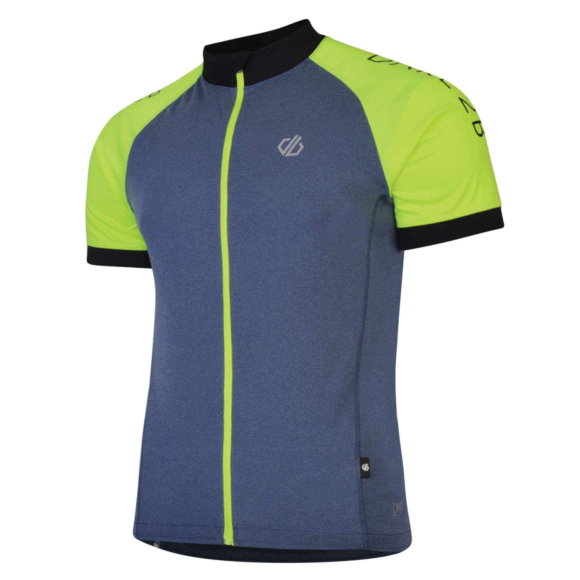 Jersey Hombre Dare 2b Accurate Lightweight Quick Drying Mesh Vented Full Zip Cycling