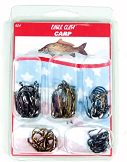 Eagle Claw Fishing Carp Hook Assortment