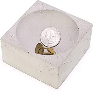 Owen and Fred Concrete Change Holder