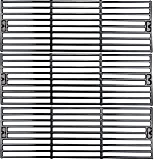 Uniflasy Grill Cooking Grates for Char-Griller Duo 2121, 2123, 2222, 2828, 3001, 3008, 3725, 3030, 4000, 5050, 5252 King Griller 3008, 5252 Grid Replacement Parts, 3 Pack