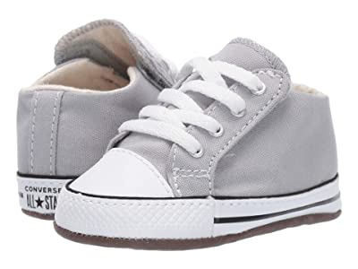 Converse Kids Chuck Taylor All-Star Cribster Gravity Graphic Mid (Infant/Toddler) (Wolf Grey/Natural Ivory/White) Kids Shoes