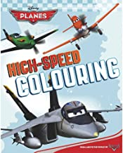 Disney Planes High-speed Colouring Book