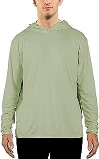 Men's UPF 50+ UV Sun Protection Performance Long Sleeve Hoody