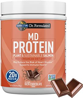 Dr. Formulated MD Protein Sustainable Plant & Salmon Chocolate (14 serving)