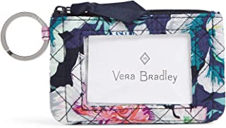 Vera Bradley Women's Signature Cotton Zip ID Case Wallet