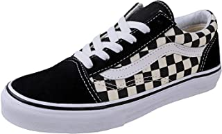 VN-0A38HBPOS: Unisex-Child Old Skool Black/White Sneakers...