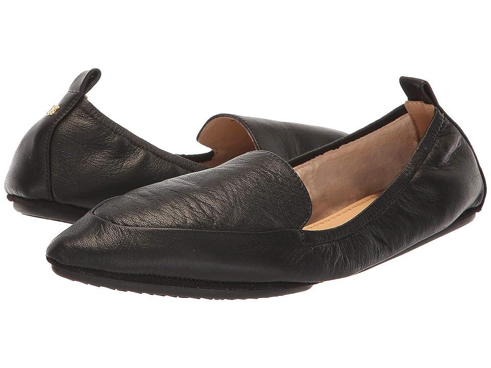 Yosi Samra Skyler (Black Tumbled Leather) Women