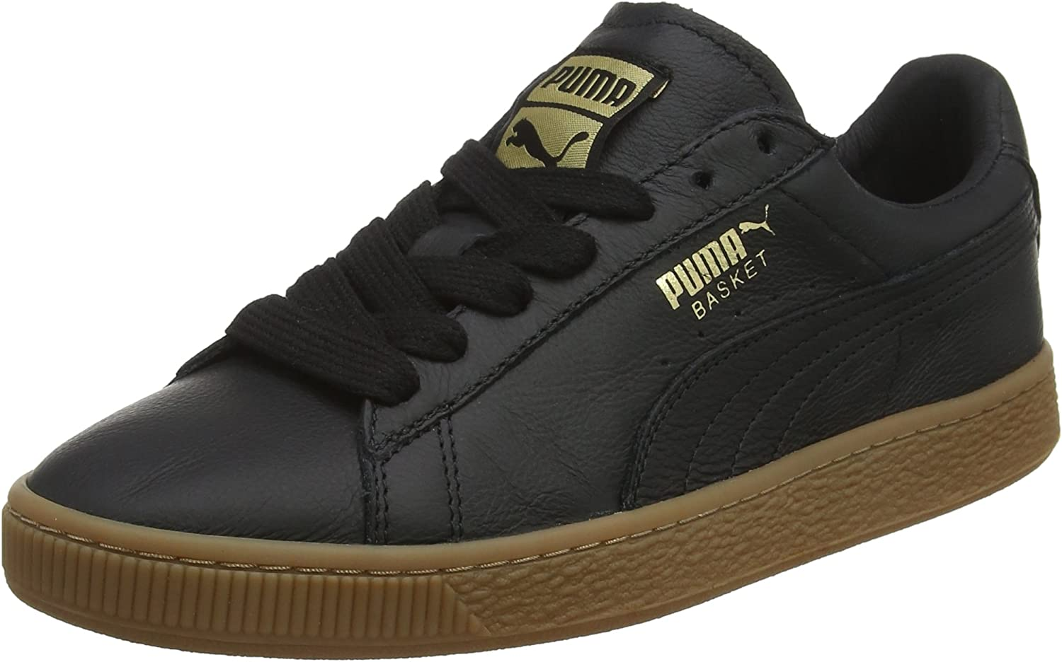 Puma Unisex Adults' Basket Classic Gum Deluxe Low-Top Sneakers