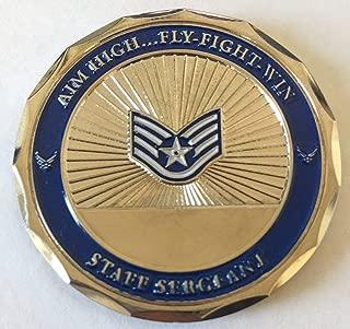 USAF Staff Sergeant Challenge Coin