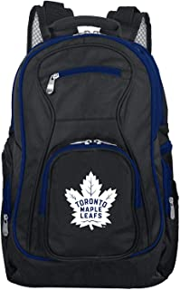 Denco NHL Colored Trim Premium Laptop Backpack, 19-inches