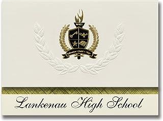 Signature Ankündigungen Lankenau High School (Philadelphia, PA) Graduation Ankündigungen, Presidential Stil, Elite Paket 25 Stück mit Gold & Schwarz Metallic Folie Dichtung B078VCYPLN  Ausgezeichnete Funktion