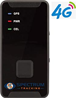 Spectrum Smart: Mini Portable GPS Tracker | Real-time Tracking of Location, Speed | Alerts for Speeding, Geofence