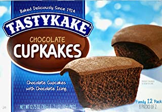 (2) Tastykake Chocolate Cup Cakes Family Packs