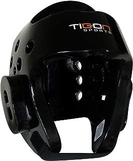 Tigon Semi contact Taekwondo Head Guard Dipped Foam Martial Arts Headguard Gear Light