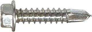 The Hillman Group 2660 10-16 x 1/2-Inch Self Drilling Hex Washer Head Screw, 30-Pack