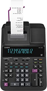 Casio Office Products DR-120R Full-Sized Printing Calculator, Black