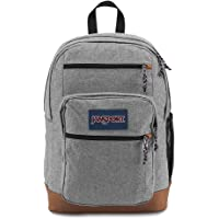 JanSport Cool Student Backpack (Grey Letterman Poly)