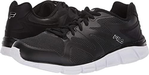 Fila Memory Cryptonic 2 Mens noir Lace Up Running baskets chaussures (8.5 US)