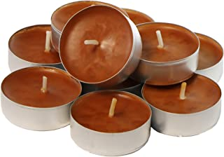 CandleNScent Scented TeaLight Candle Cinnamon Spice, Pack of 30 (TM) Made in USA