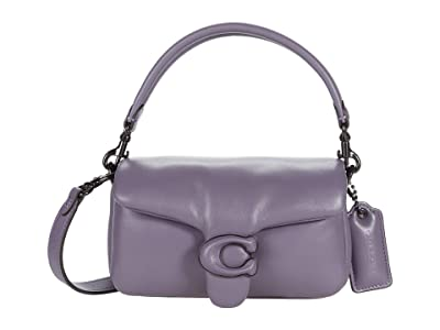 COACH Leather Covered C Closure Pillow Tabby Shoulder Bag 18