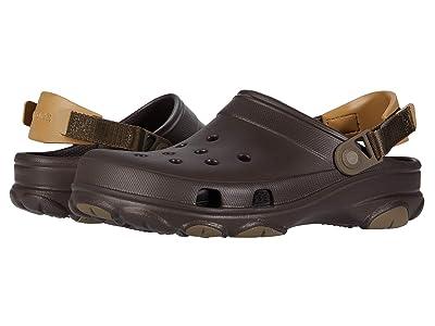 Crocs Classic All Terrain Clog (Espresso) Clog Shoes