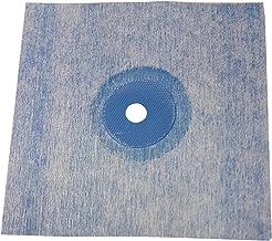 Sanitaire wandmanchetten, TPE, blauw, 120 x 120 mm, afdichting voor tegels, voor badkamer, douche, keuken, badafdichting, ...