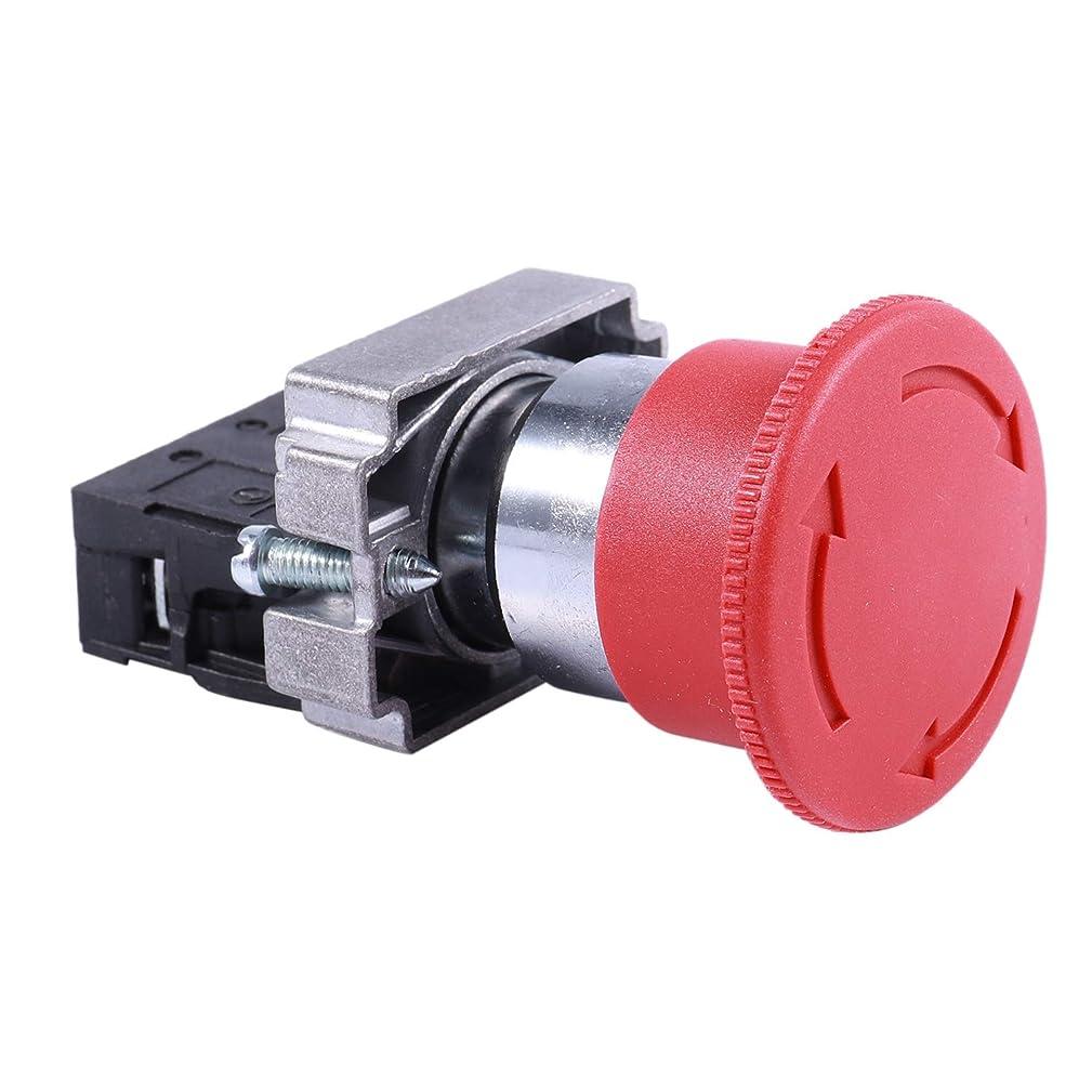 センブランスシード着飾るGaoominy 22mm NC赤のキノコ緊急停止ボタンスイッチ 600V 10A ZB2-BE102C
