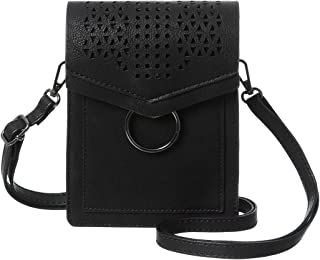 MINICAT Small Crossbody Bags for Women Synthetic Leather Cell Phone Purse with Card Slots