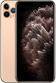 Apple iPhone 11 Pro Max with FaceTime - 256GB, 4G LTE, Gold - International Version