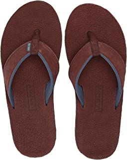 Vineyard Vines Leather Flip Flops Free Shipping Zappos Com