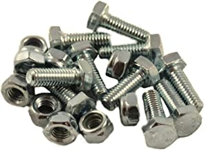 10 Sets - Auger Shear Pins Bolts & Nuts Honda Compatible HS1132 HS624 HS828 HS928 HS724 & New HSS Series 724, 928, 1332