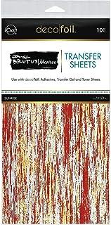 THERMOWEB Deco Foil by Brutus Monroe 6 x 12 Sunrise (10 Sheets per Pack), Multi, 1