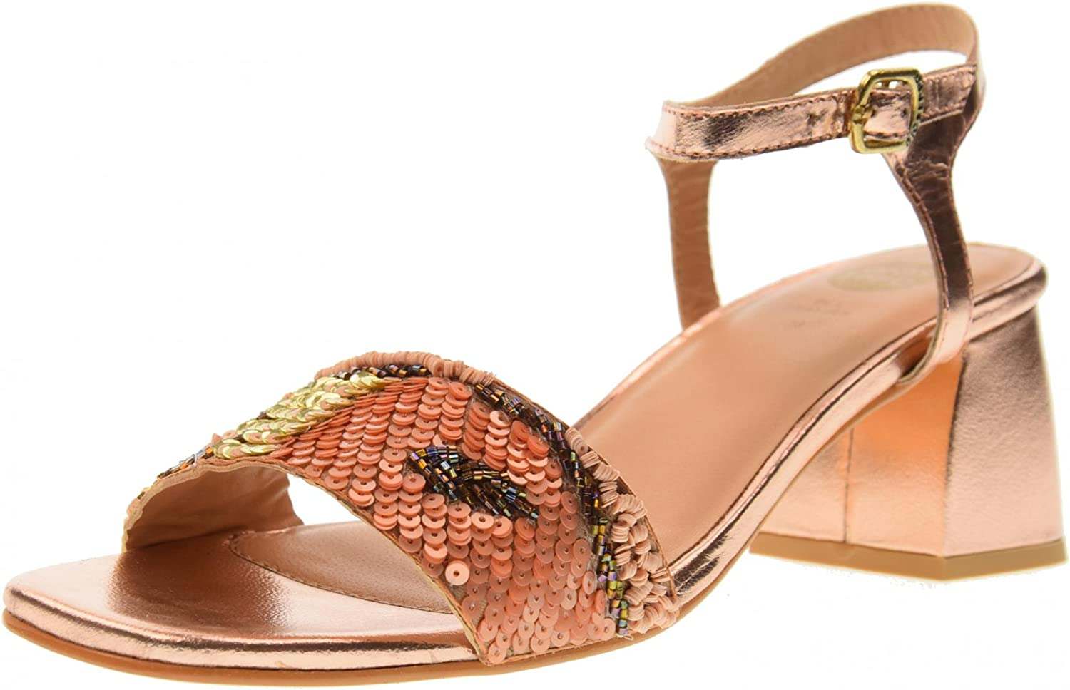 GIOSEPPO shoes Woman Low Heel Sandals 45283 Nude