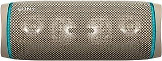 ソニー ワイヤレスポータブルスピーカー SRS-XB43 : 防水/防塵/防錆/Bluetooth/重低音モデル/マイク付き/ライティング機能搭載 / 最大24時間連続再生 2020年モデル / ベージュ SRS-XB43 C