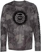 Major League Fishing Bait Shop Badge Dri Fit Long Sleeve Tshirt Fishing Shirt for Men