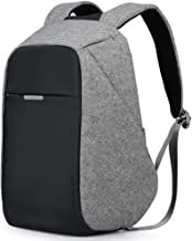 Oscaurt Business Travel Backpack, Laptop Backpack College School Bookbag with USB Charging Port for Men Women Anti-theft Water Resistant Daypack for Most 15.6 Inch Laptop