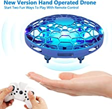 $20 » Hand Operated Drone for Kids, Mini Flying Toys Drone with Remote Control,Hands Free Drones Flying Ball Toys for Boys and Girls, Beginner UFO Hand Drone Sensor Infrared Helicopter