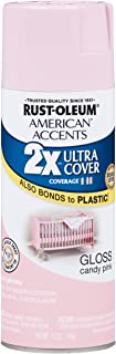 Rust-Oleum 284976 American Accents Ultra Cover 2x Gloss, Each, Candy Pink