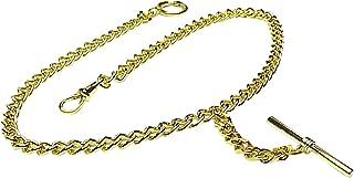 Gold Single Albert Pocket Watch Chain-914Y