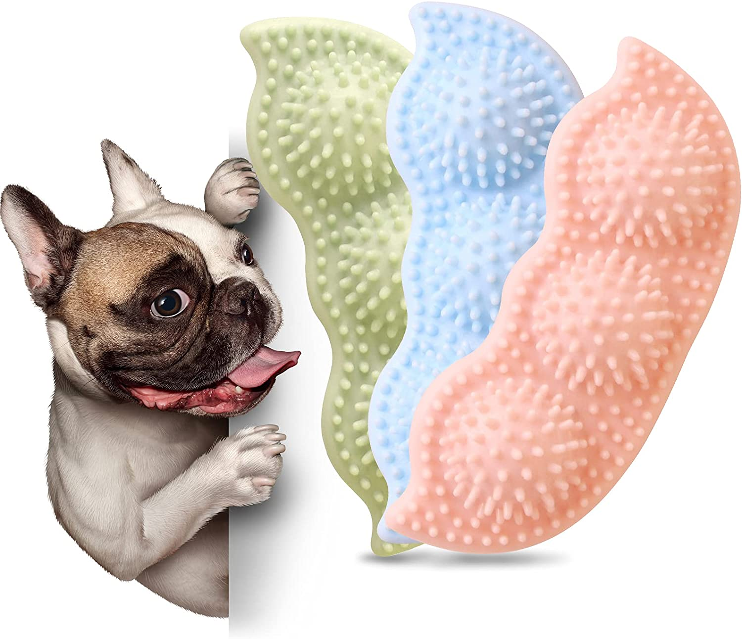 Zzanggu Cheap mail order shopping Puppy Toys Dog Chew for favorite 3 Puppies Pup Teething Pack