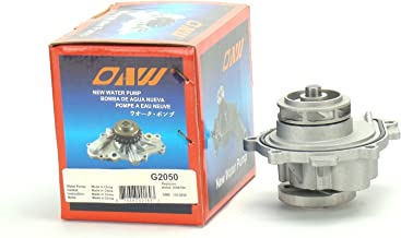 OAW G2050 Engine Water Pump for 09-11 Chevrolet Aveo & Pontiac G3 1.6L, 11-14 Chevrolet Cruze & Sonic 1.8L, 08-09 Saturn Astra 1.8L