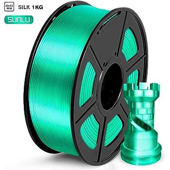 GEEETECH PLA filamento 1.75mm Seda Oro, impresora 3D Filamento PLA ...