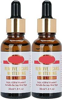 Suero facial anti cicatrices 2 * 30 ml blanqueamiento hidratante apretado removedor facial nutritivo suero crema para cic...
